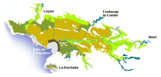 Carte Venise Verte.Embarcadere Port Montfaucon Dans Le Marais Poitevin